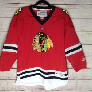 Reebok Blackhawks Jersey NHL size L/XL